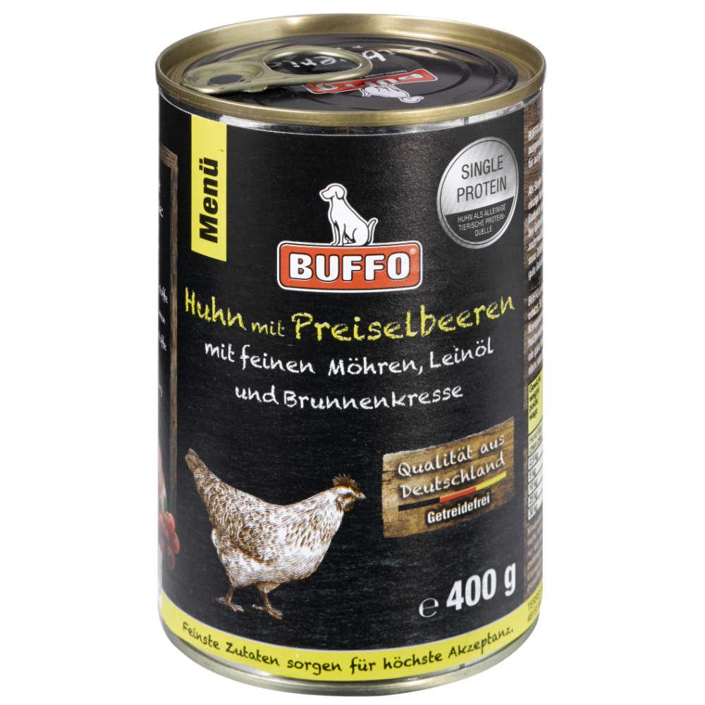 Grafik für BUFFO Leibgericht Huhn & Preiselbeeren in raiffeisenmarkt.de