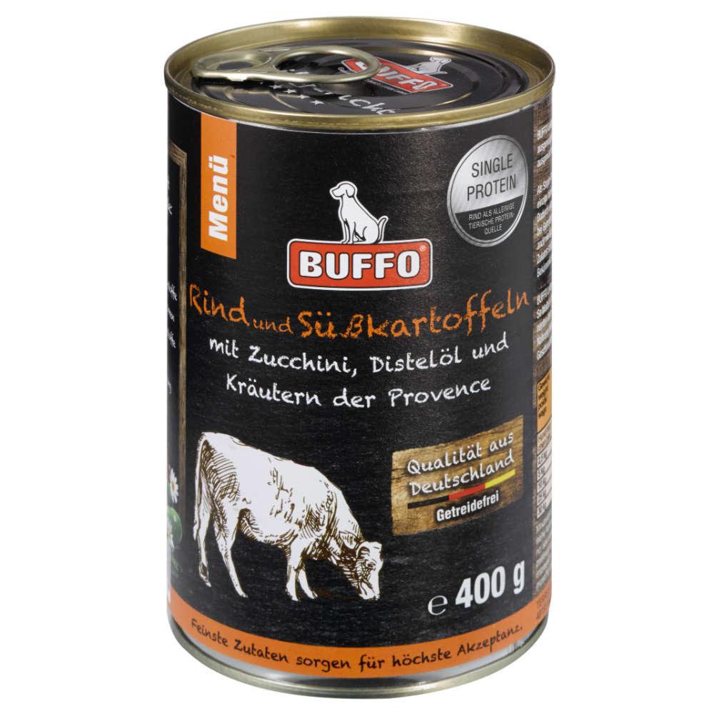 BUFFO Leibgericht Rind mit Süßkartoffeln - Buffo