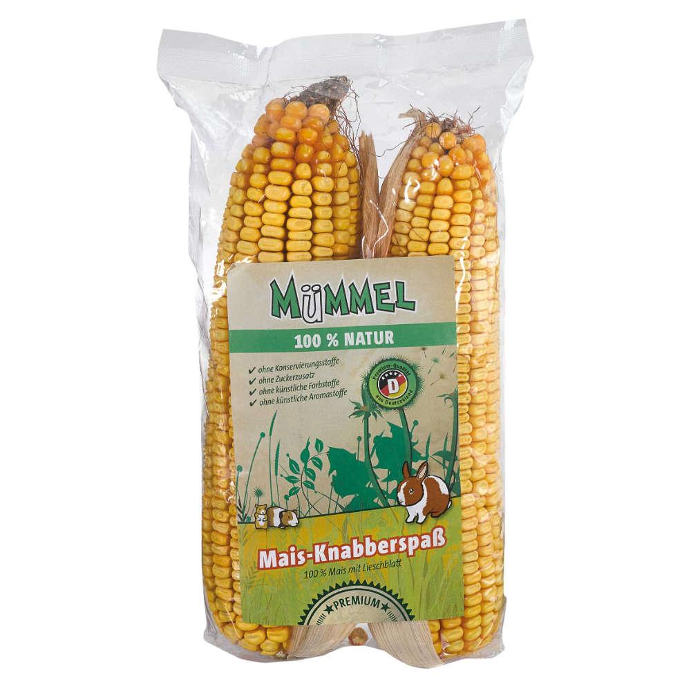 MÜMMEL 100% Natur Mais-Knabberspaß - Kleintiersnacks