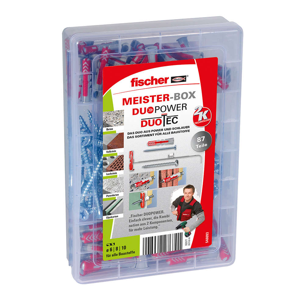 Fischer MEISTER-BOX DUOPOWER und DUOTEC