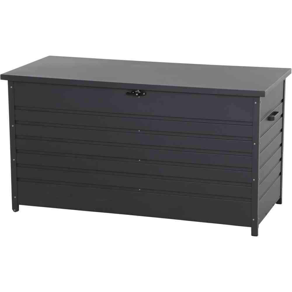 SIENA GARDEN Sabano Kissenbox 135x59x75 cm matt anthrazit