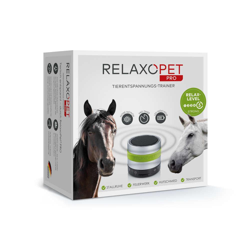 RelaxoPet PRO Tierentspannungs-Trainer für Pferde