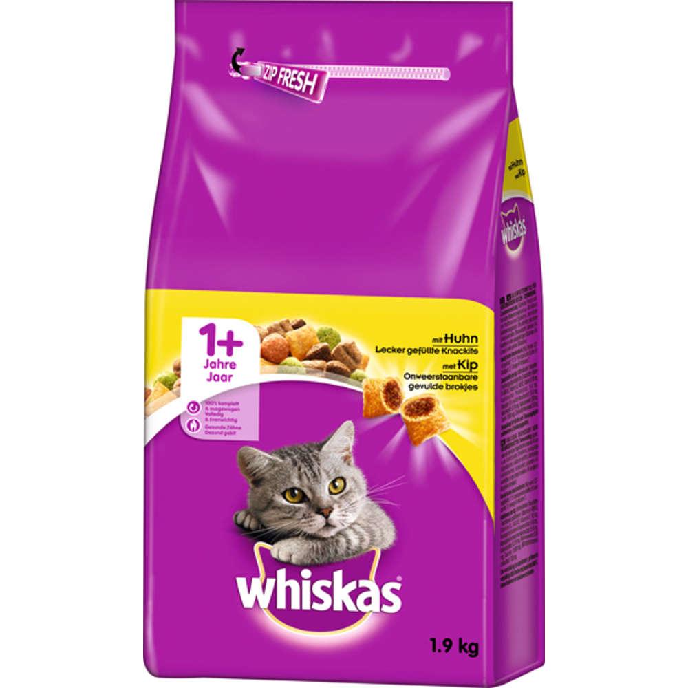 WHISKAS Trocken 1+ mit Huhn - Whiskas