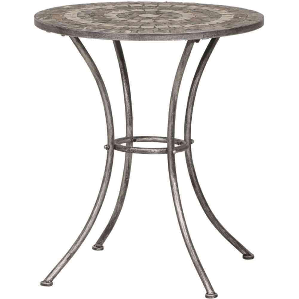 SIENA GARDEN Felina Tisch rund Ø 70cm - Gartentisch mosaik