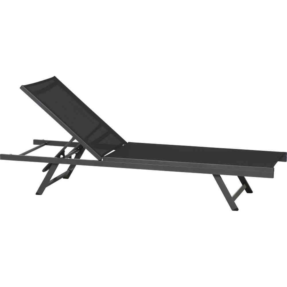 siena garden tropic alu liege schwarz. Black Bedroom Furniture Sets. Home Design Ideas