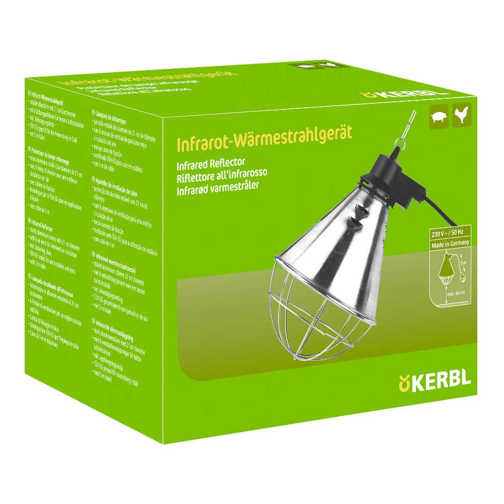 KERBL Infrarot-Waermestrahlgeraet - Gefluegelhaltung