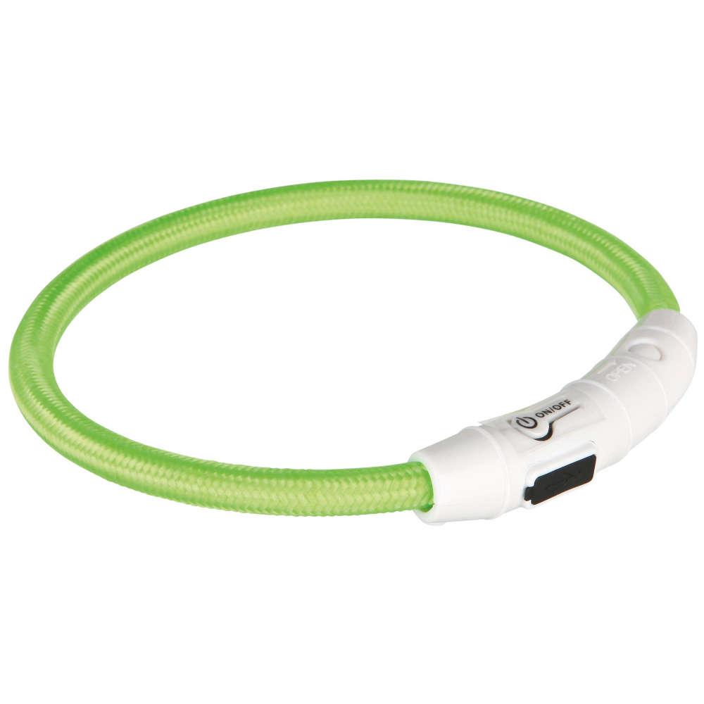 TRIXIE USB Flash Leuchtring  - Hundehalsband