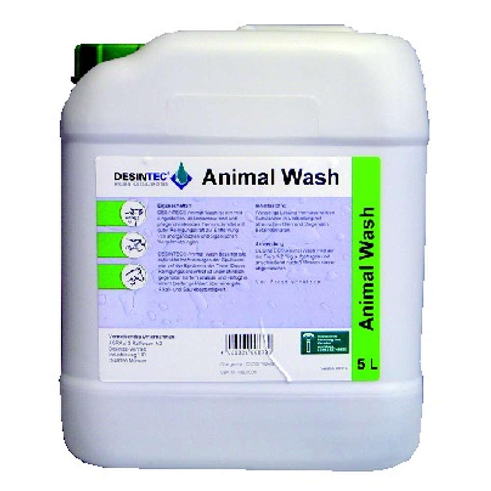 Grafik für DESINTEC® Animal Wash in raiffeisenmarkt.de