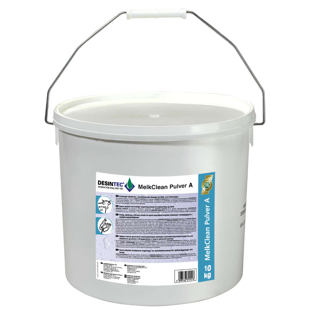 Grafik für DESINTEC® MelkClean Pulver A in raiffeisenmarkt.de