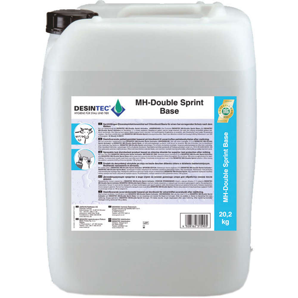 DESINTEC® MH Double Sprint D Base - Euterhygiene