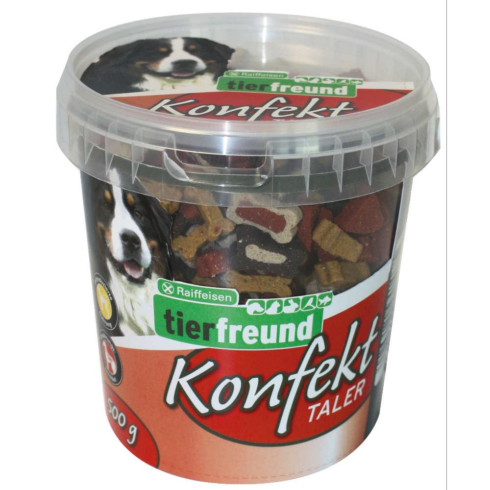 Grafik für Raiffeisen tierfreund Konfekt Taler in raiffeisenmarkt.de