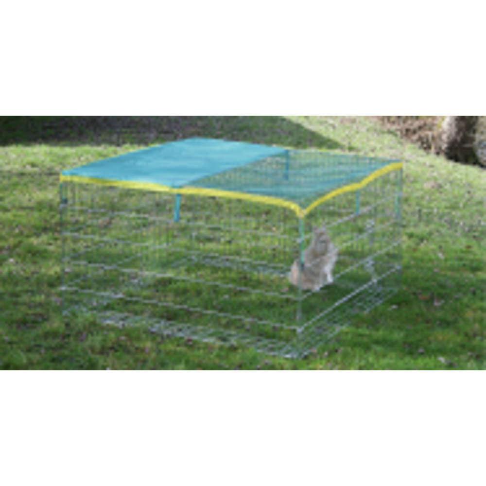 KERBL Freigehege mit Ausbruchsperre - Freigehege Kaninchen