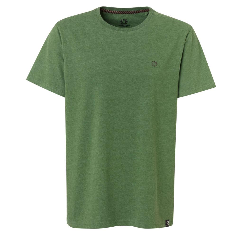 C.CENTIMO CLASSIC T-Shirt grün