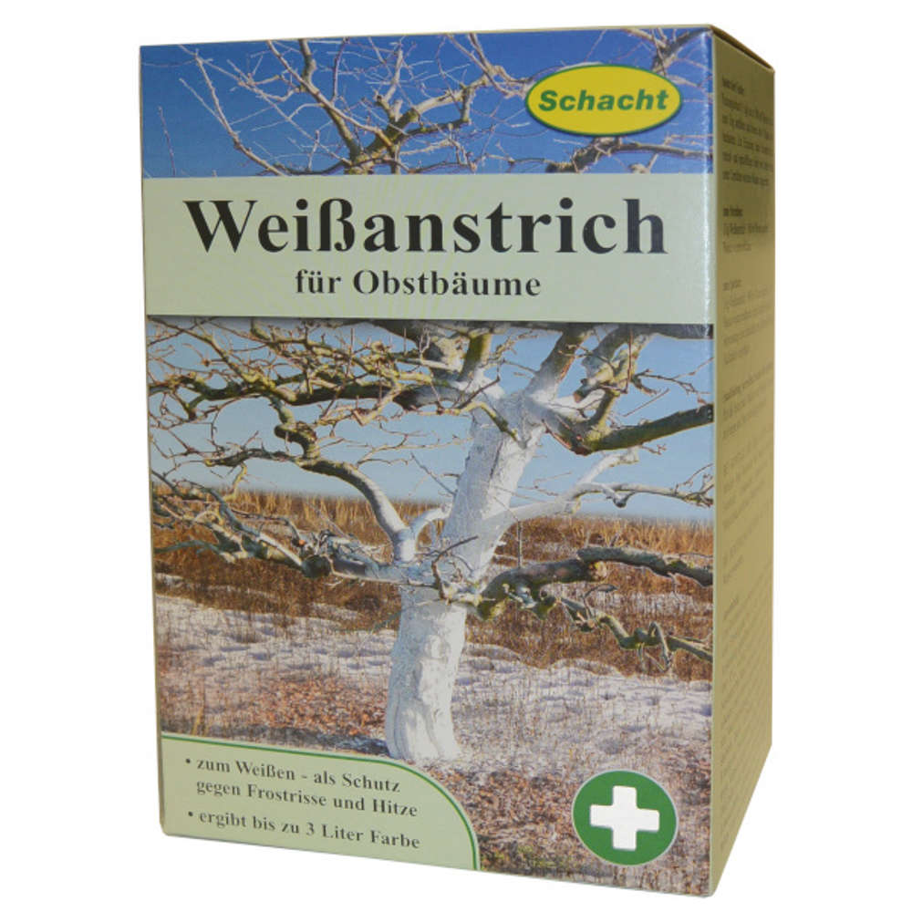 Weissanstrich fuer Obstbaeume