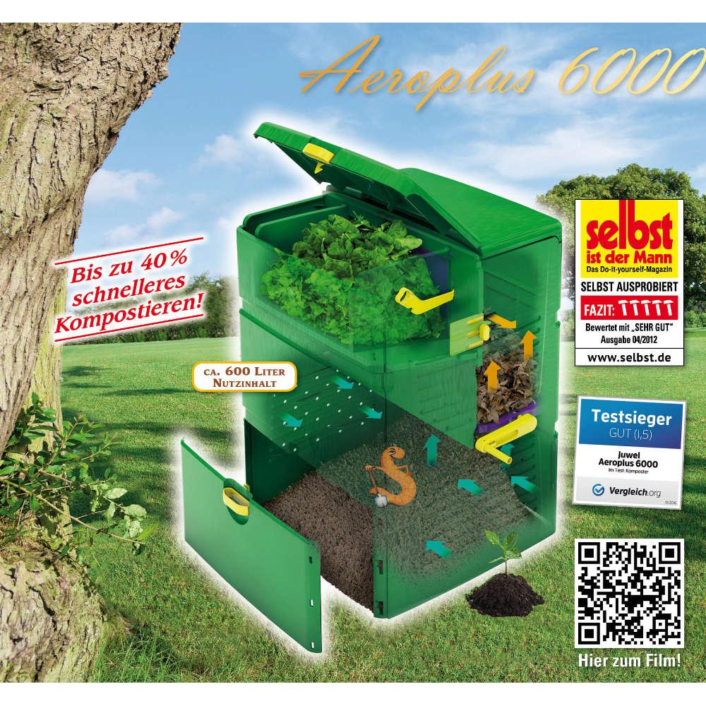 JUWEL AEROPLUS 6000 Komposter