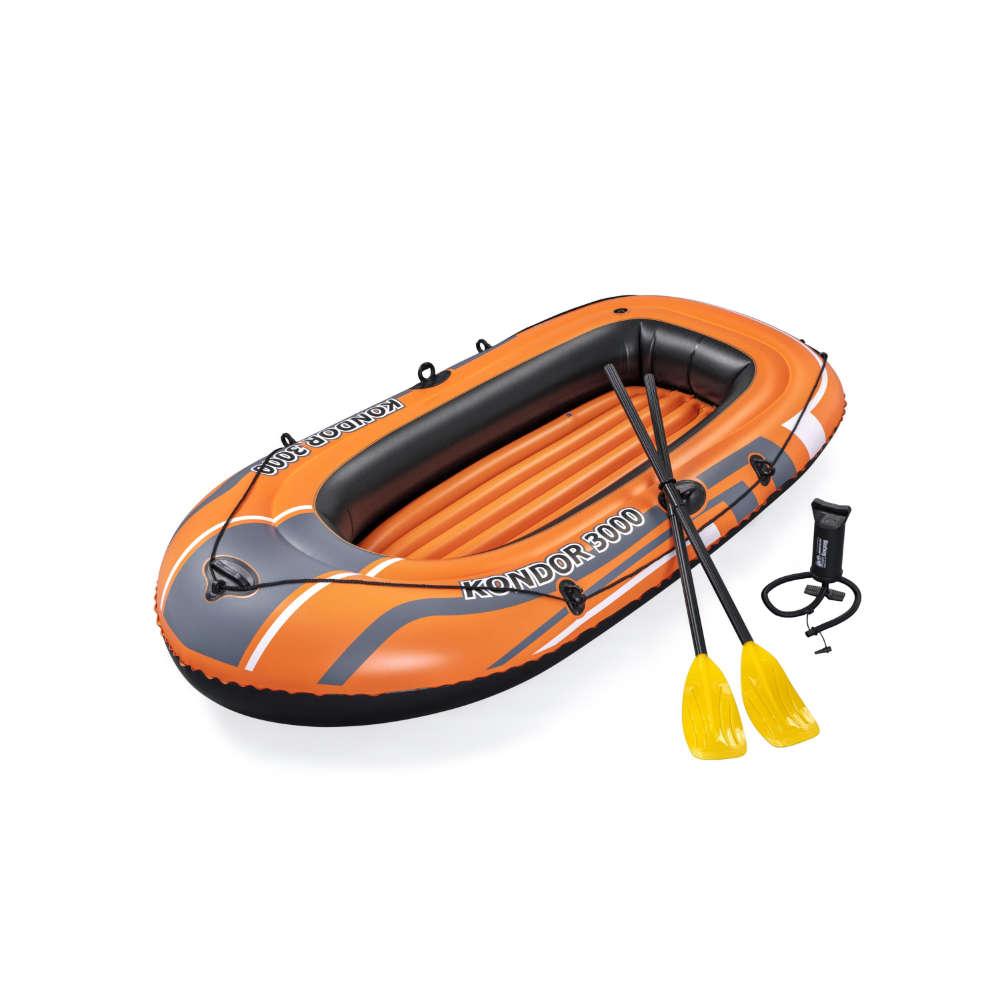 Bestway Schlauchboot-Set Kondor 3000 232 x 115 x 36 cm