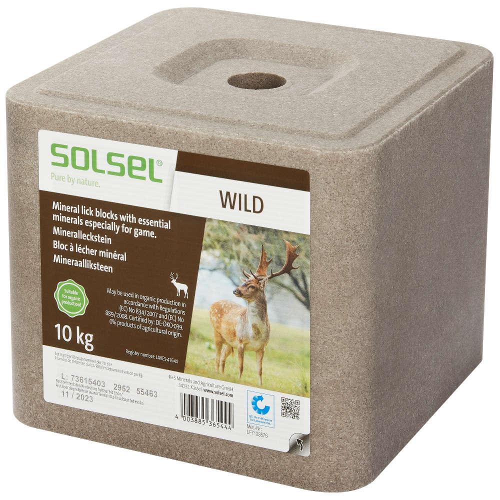 SOLSEL Mineralleckstein Wild