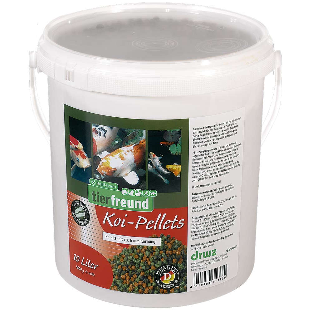 Raiffeisen tierfreund Koi-Pellets - Teichfutter