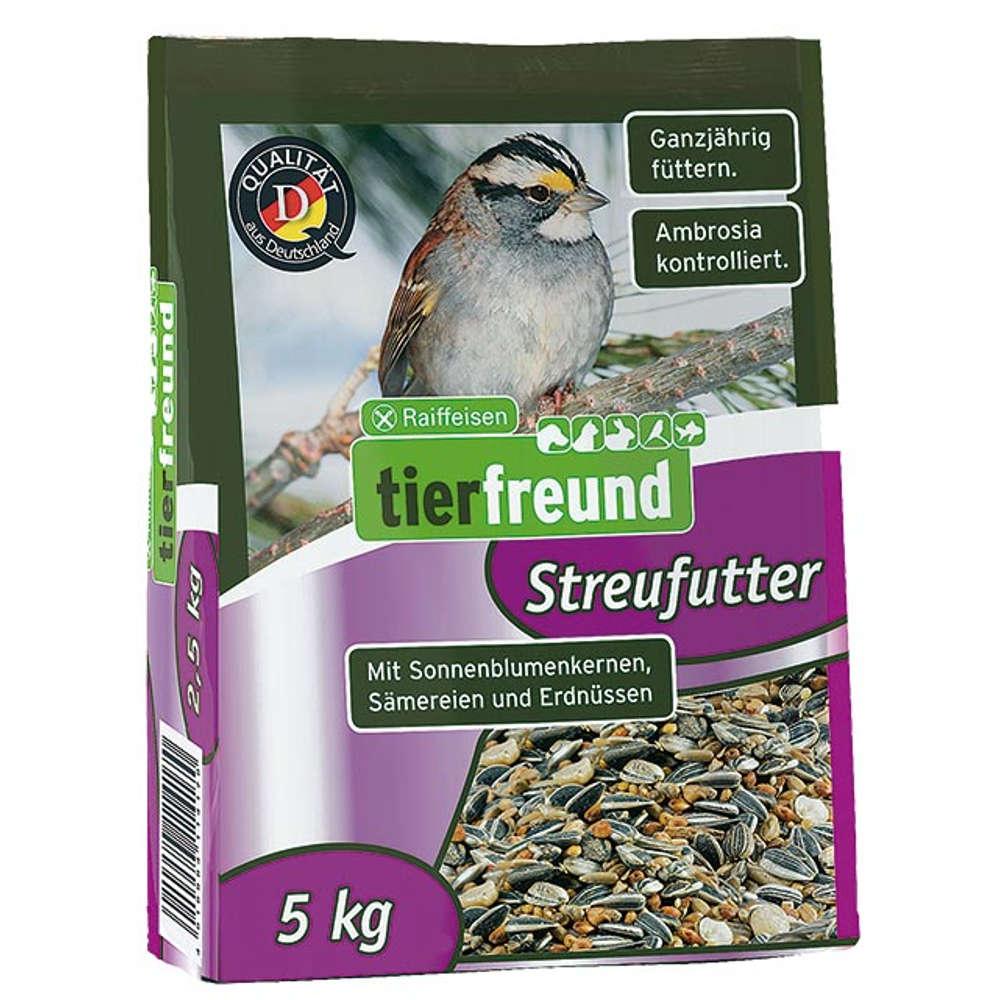 Grafik für Raiffeisen tierfreund Streufutter in raiffeisenmarkt.de