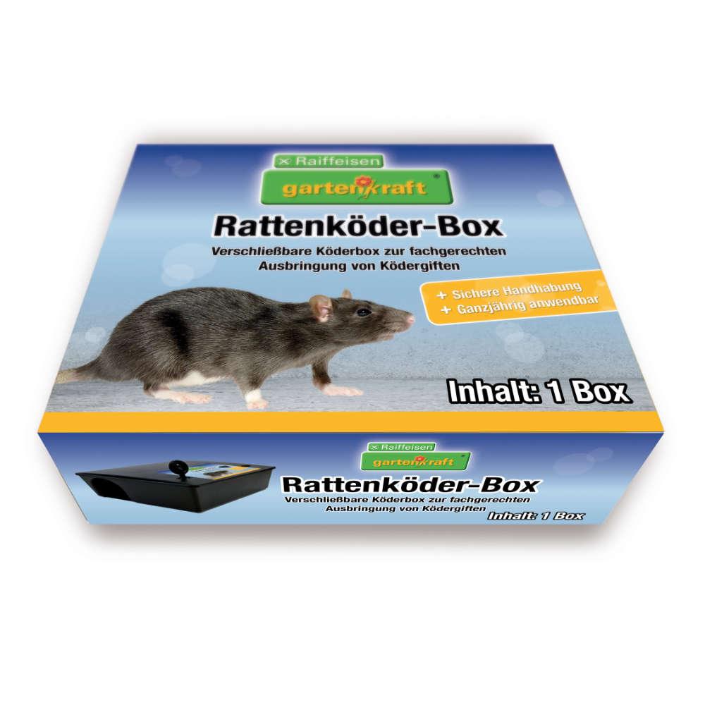 gartenkraft Rattenkoeder-Box