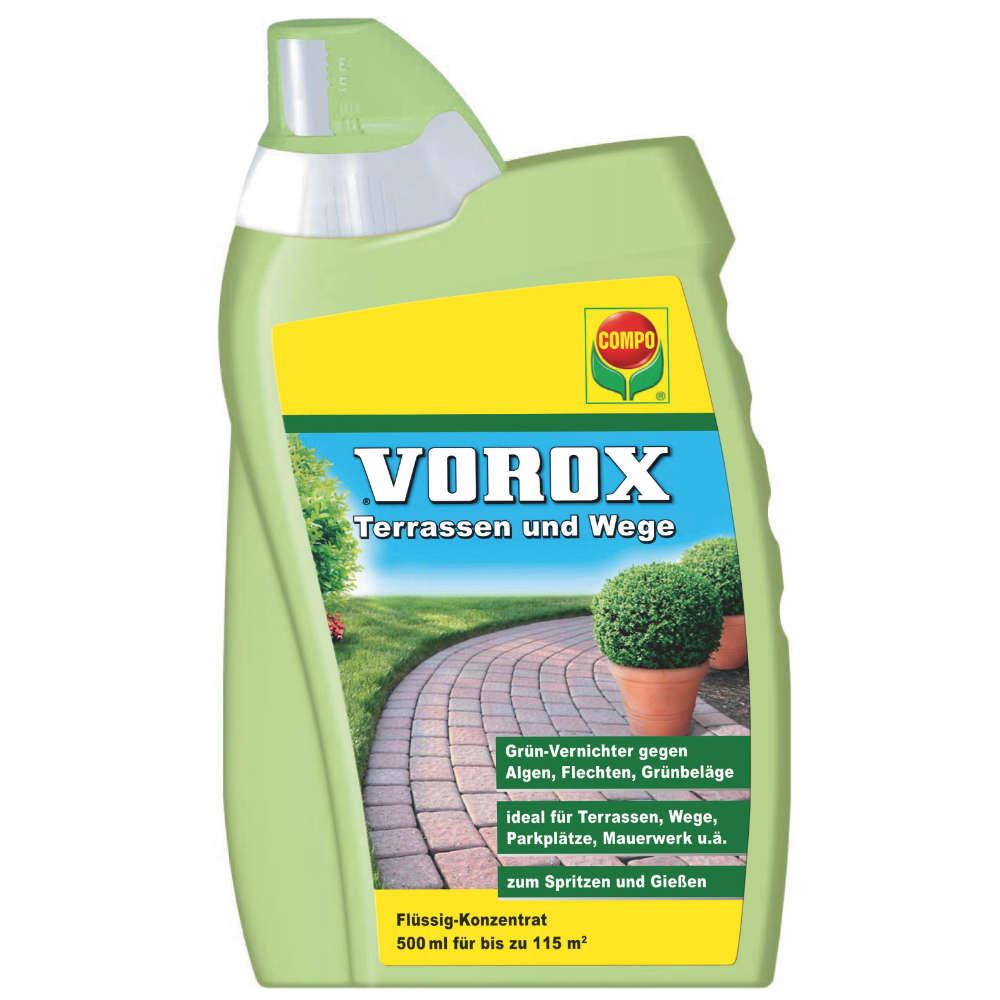 Vorox Terassen- und Wegekonzentrat - Grünbeläge und Algen