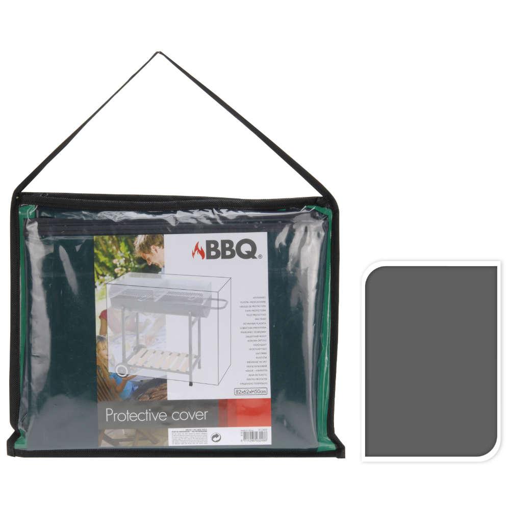 Abdeckhaube Plastik gruen/grau - Wetterschutzhaube