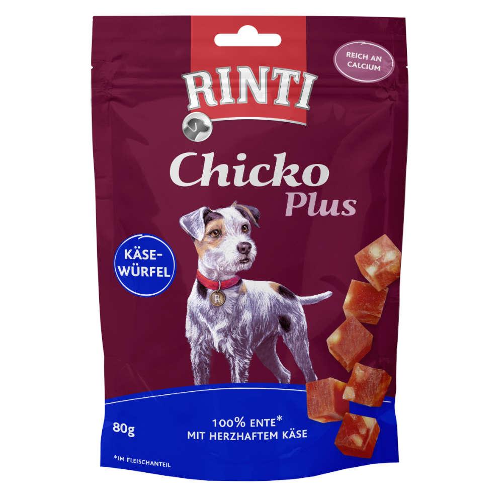 RINTI Chicko Plus Käsewürfel mit Ente