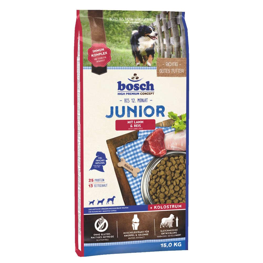 bosch Tiernahrung Junior Lamm & Reis - bosch