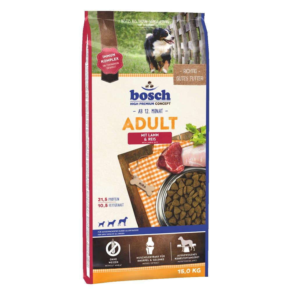 bosch Tiernahrung Adult Lamm & Reis - bosch