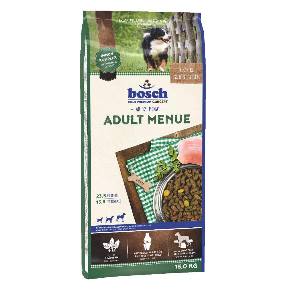 bosch Tiernahrung Adult Menue - bosch