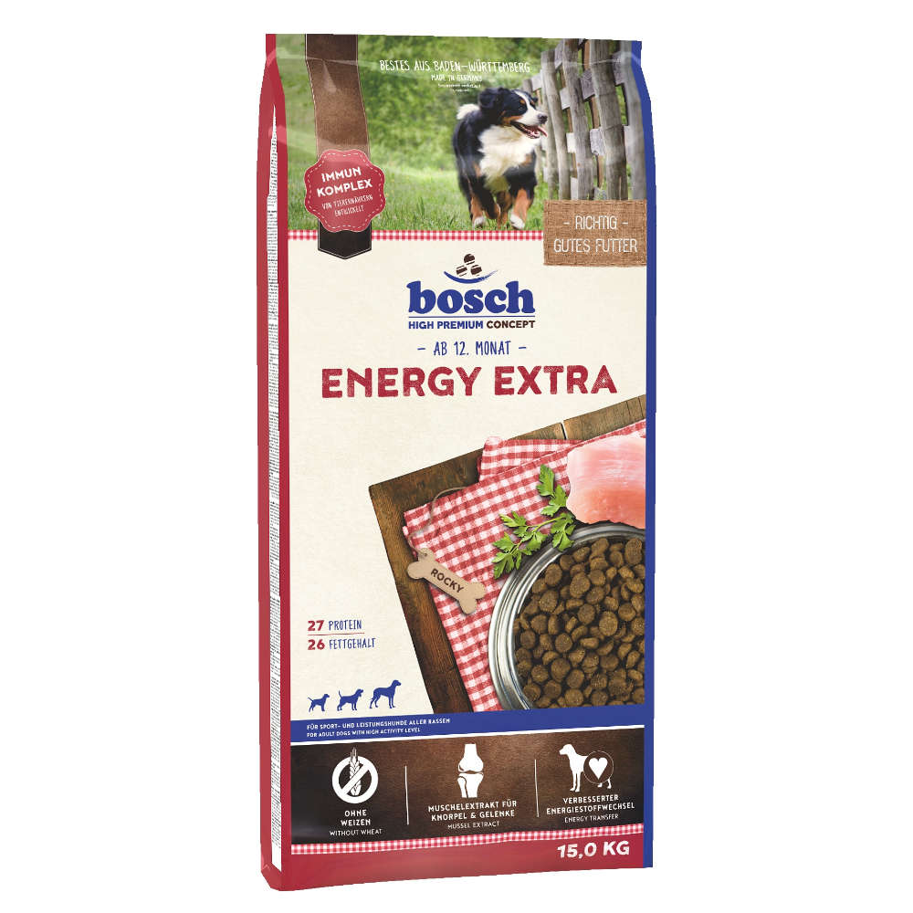 bosch Tiernahrung Energie Extra - bosch
