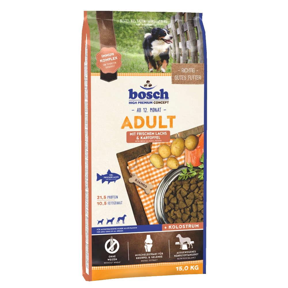 bosch Tiernahrung Adult Lachs & Kartoffel - bosch