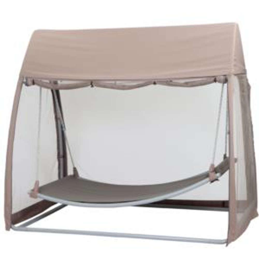siena garden h ngematte mit sonnendach und moskitonetz. Black Bedroom Furniture Sets. Home Design Ideas