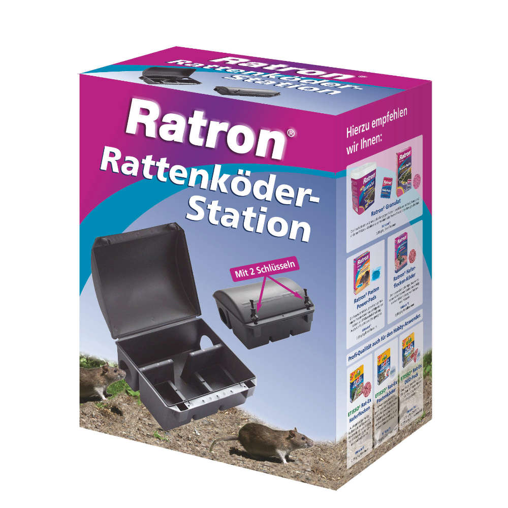 Ratron Rattenkoeder-Station - Schadnager