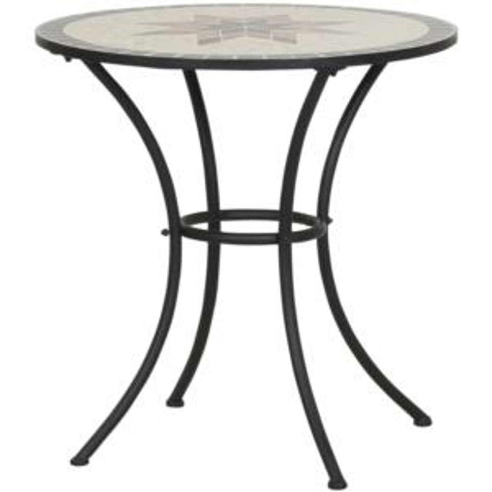 SIENA GARDEN Tisch Stella 70 cm - Gartentisch mosaik