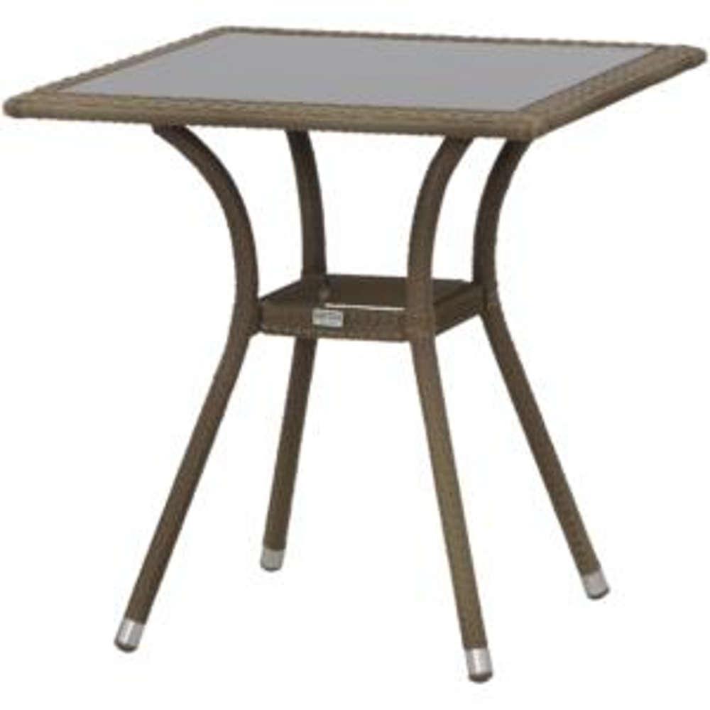 siena garden tisch wien 70x70 sand. Black Bedroom Furniture Sets. Home Design Ideas