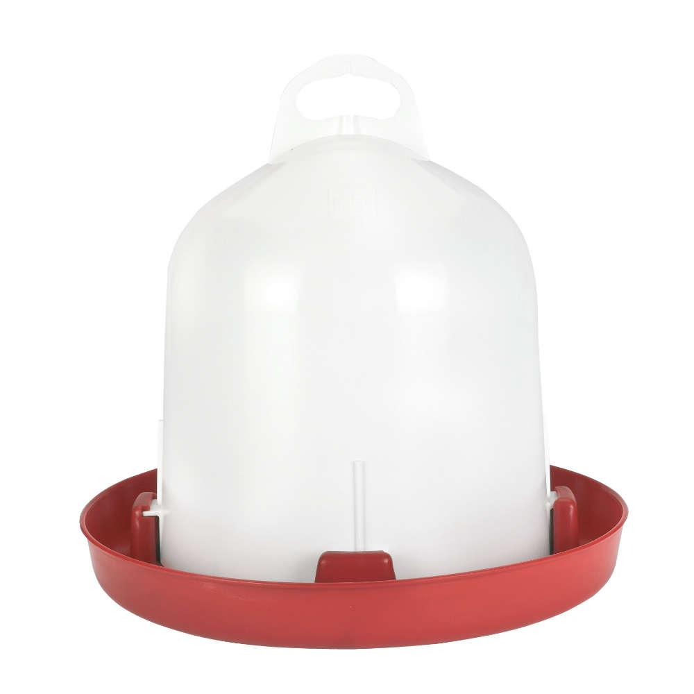 Stuekerjuergen Doppelzylinder-Kunststofftraenke - Gefluegelhaltung