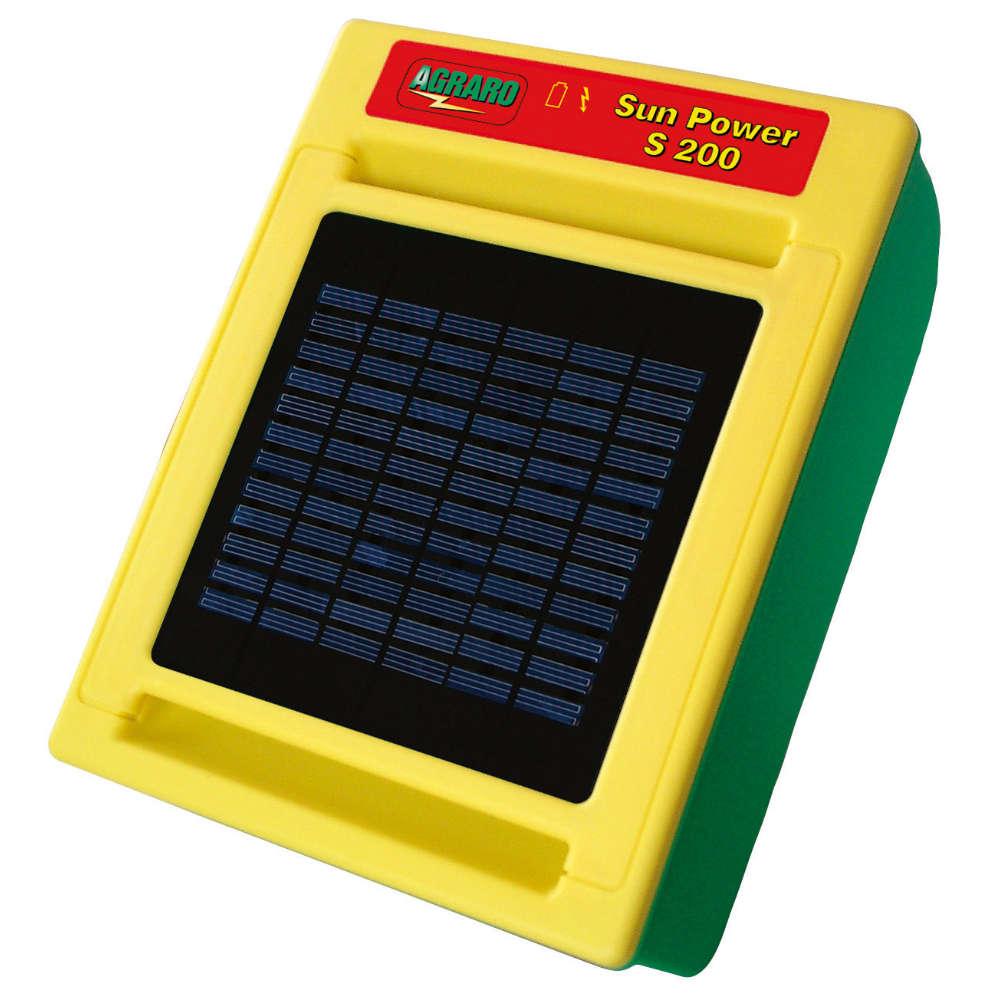 AGRARO Solargeraet Sun Power S 200 - Weidezaungeraet