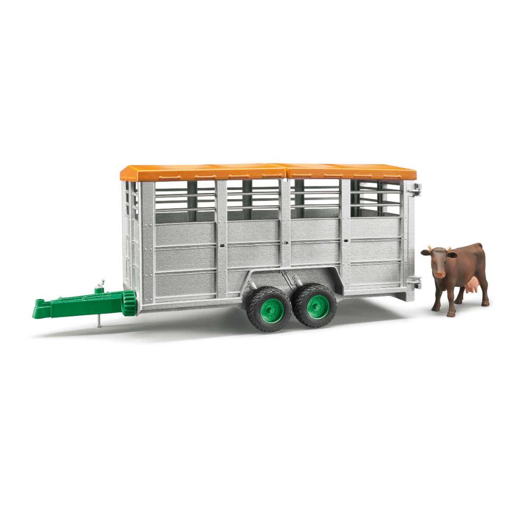 bruder Viehtransportanhaenger inkl. 1 Kuh 02227 - Einfach und bequem online bestellen auf raiffeisenmarkt24.de - bis 70 kg nur 3,99 Euro Versandkosten