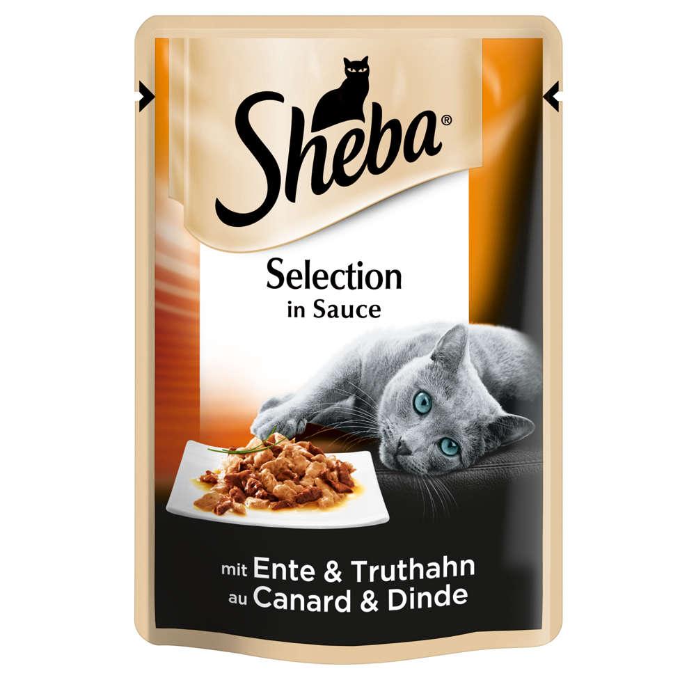 Grafik für SHEBA Selection in Sauce mit Ente & Truthahn in raiffeisenmarkt.de