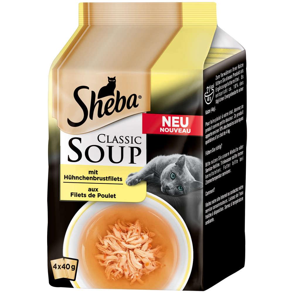 SHEBA Classic Soup mit Hühnchenbrustfilets