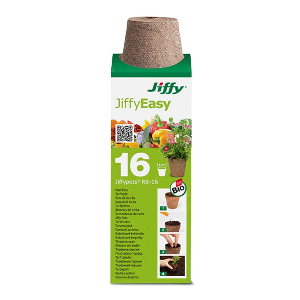 Jiffy Torf-Anzuchttoepfe  - Torf-Anzuchttoepfe