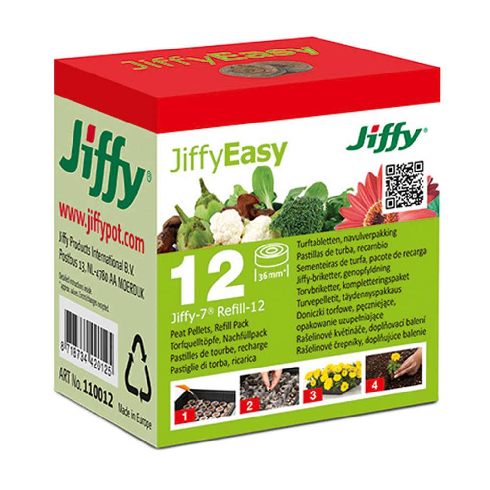 Jiffy Torf-Quelltoepfe - Torf-Anzuchttoepfe