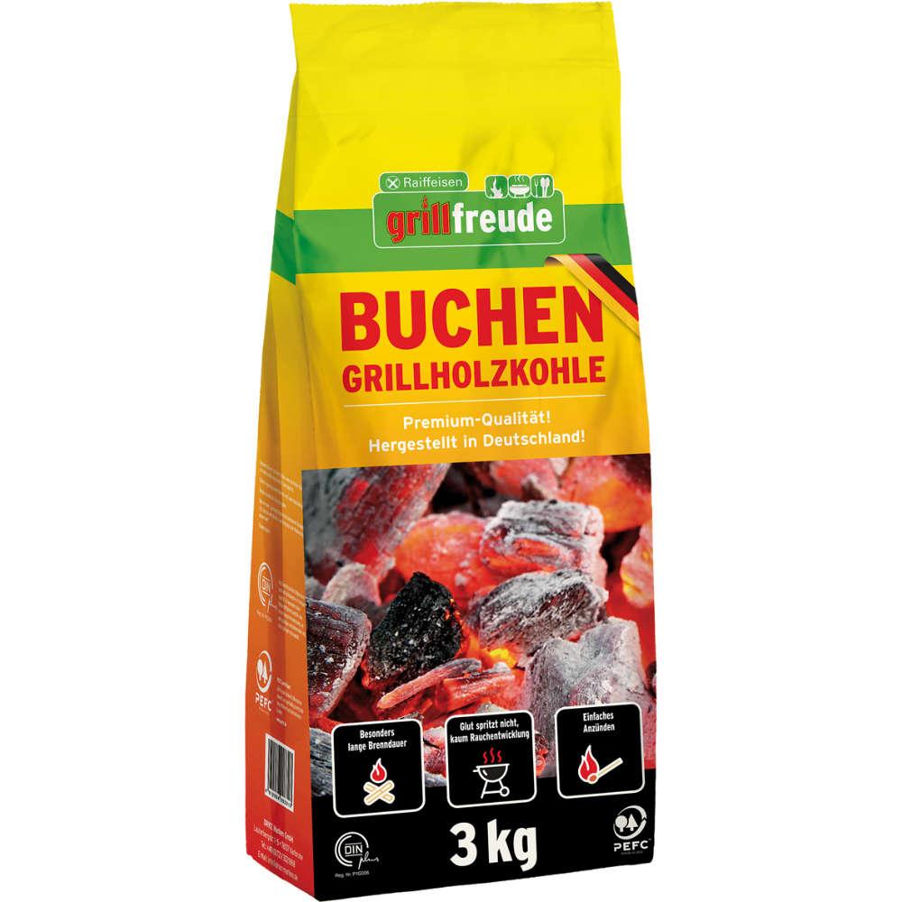 Grafik für Raiffeisen grillfreude Buchen-Grillholzkohle in raiffeisenmarkt.de