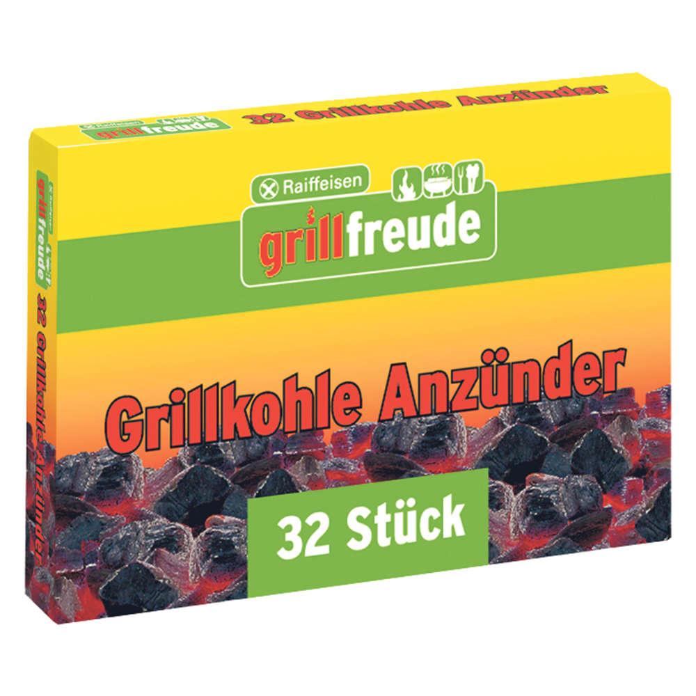 Raiffeisen grillfreude Grillanzuender fest - Grillanzuender