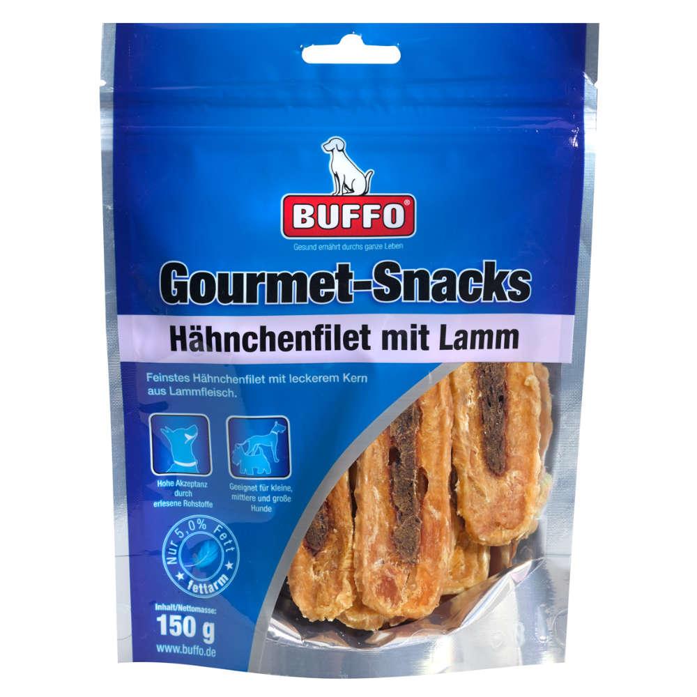 Gourmet Snacks Hähnchenfilet mit Lamm