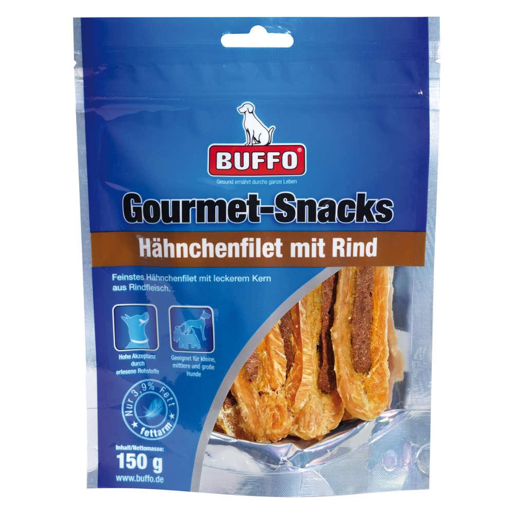 Gourmet Snacks Hähnchenfilet mit Rind