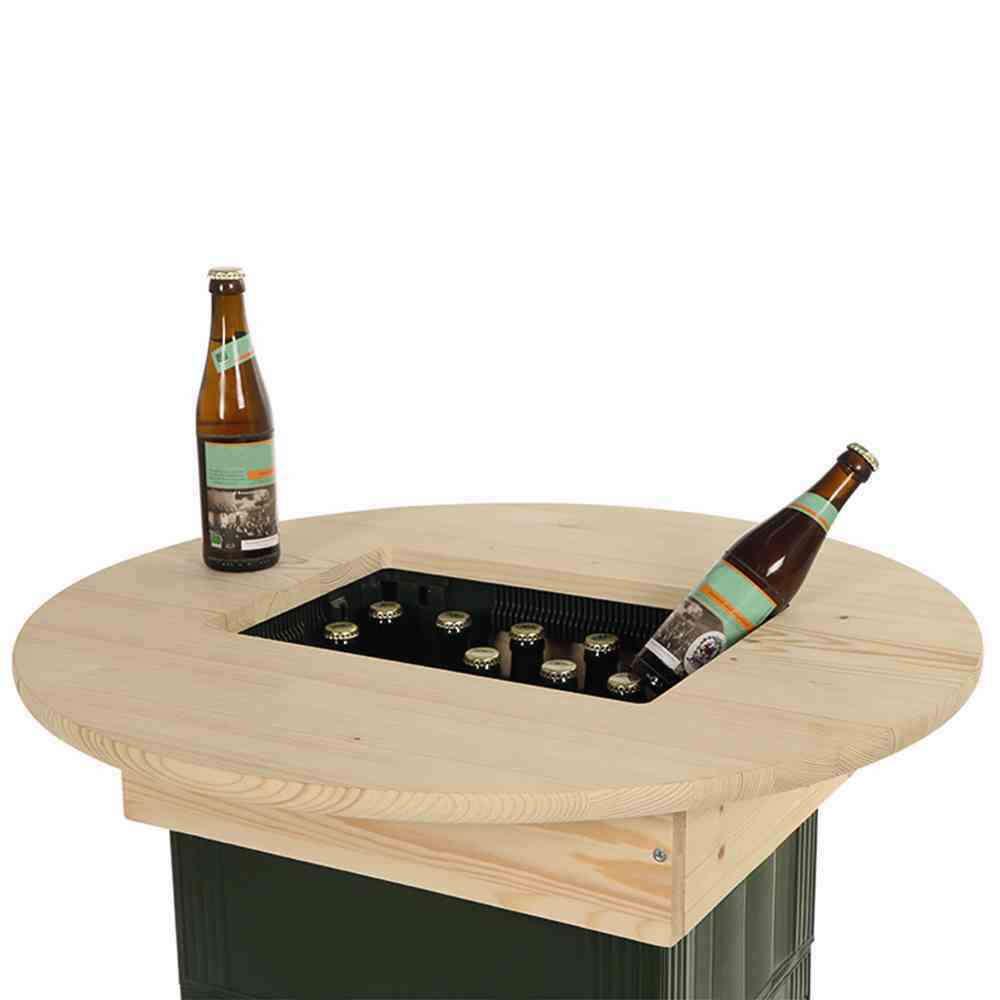 SIENA GARDEN Bierkasten Tischaufsatz Kiefer für Getränkekisten