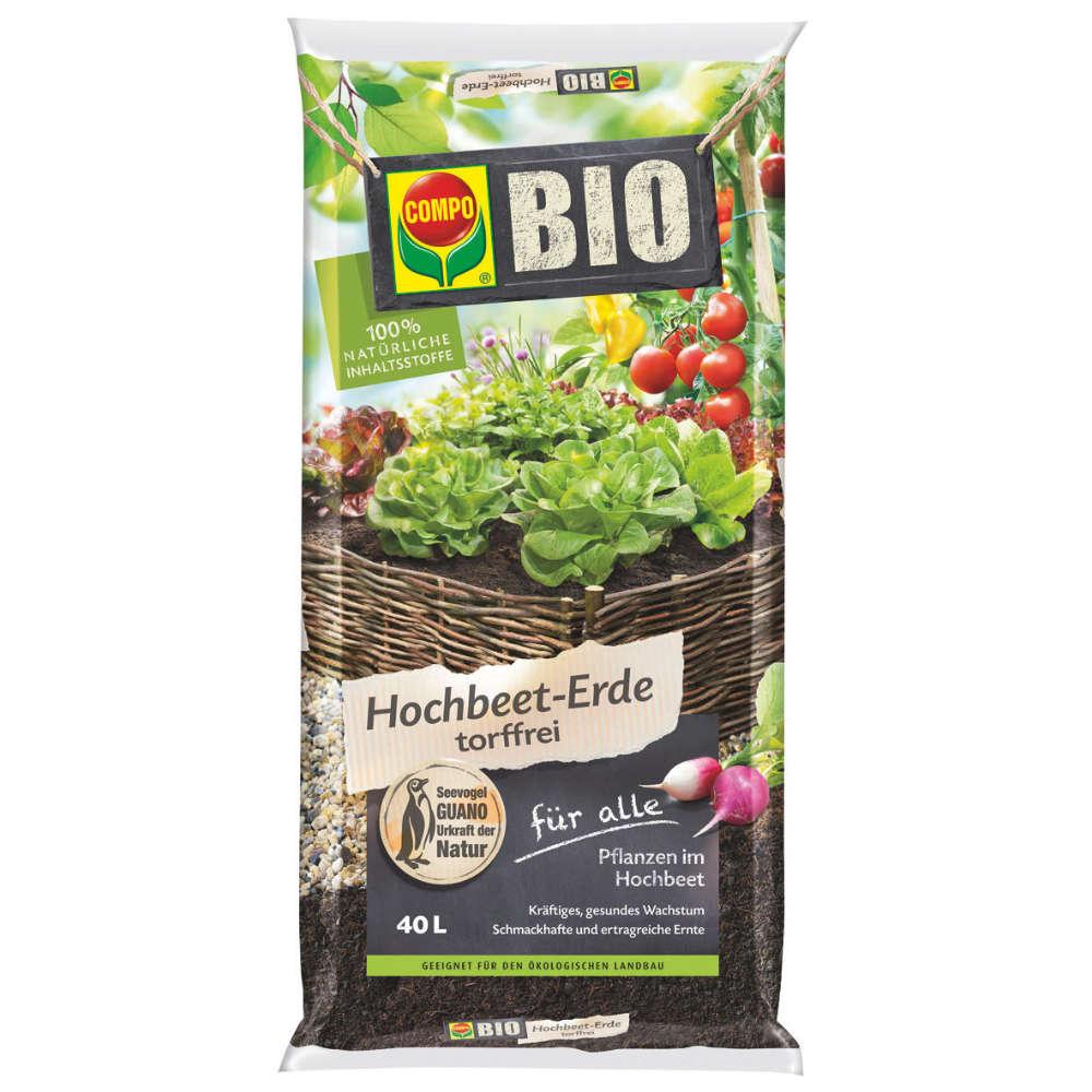 Bio Hochbeet-Erde torffrei