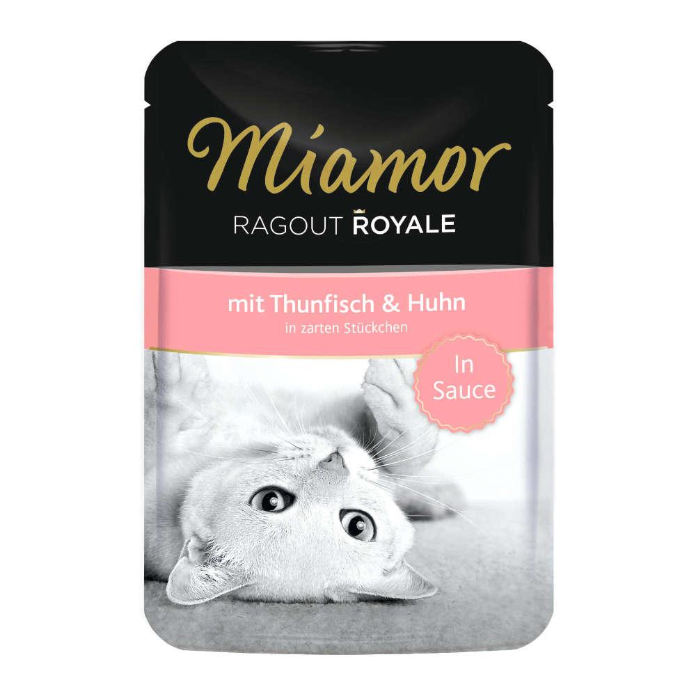 Miamor Ragout Royale Thunfisch und Huhn